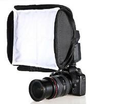 23 x23cm Soft Box Kit for Canon 430EX 580EX II Nikon SB600 SB800 Flash Speedlite