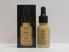 NYX Total Control Drop Foundation color TCDF08 True Beige 0.43 oz New In Box