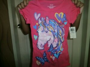 CLOSEOUT-SALE-Imported-From-USA-7-99-Pony-amp-Butterfly-Shirt-XS-4-5