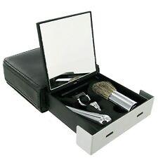 Travel Shaving Set; Brush and cartridge razor;