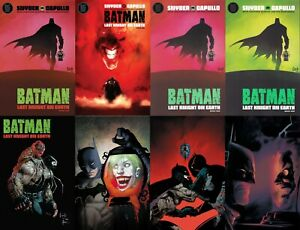 BATMAN-Last-KNIGHT-on-Earth-1-2-3-of-3-Capullo-JOCK-NM-BLACK-LABEL-Plus-SETS