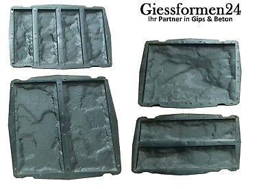 EntrüCkung 4 Verschiedene Schalungsformen Beton Gips Giessformen Wandklinker Riemchen Set Ausgereifte Technologien Abformen