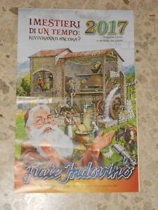 Calendario Frate Indovino Ebay.Dettagli Su 2017 Frate Indovino Calendario 2017 I Mestieri Di Un Tempi Usato