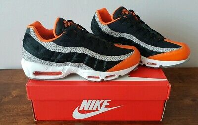 a4b3716114fa Nike Air Max 95 Trainers UK Size 11 Black Granite Safety Orange RRP £189.99
