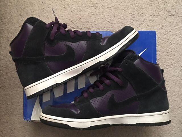 Nike Dunk HIGH Pro SB Grand Purple Size 9.5