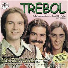 TREBOL TODAS SUS GRABACIONES EN DISCOS CBS Y PHILIPS 1972-1976-CD