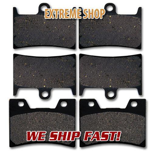 Yamaha F+R Brake Pads XV1700 Road Star 08-14 04-08 Midnight Siverado S 04-07