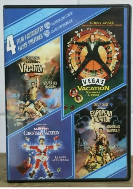 4 Film Favorites Vacation Collection National Lampoon's