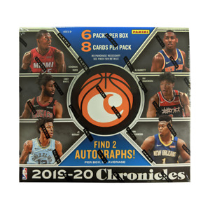 2019-20 NBA Panini Chronicles Basketball Factory Sealed Hobby Box NEW Zion Ja Mo