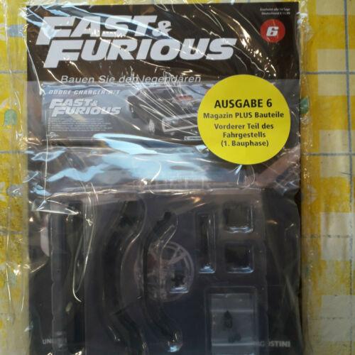 Fast /& Furious Bauen Sie den Legenderen Dodge Charger R//T 1:8 Teil 6 Bausatz