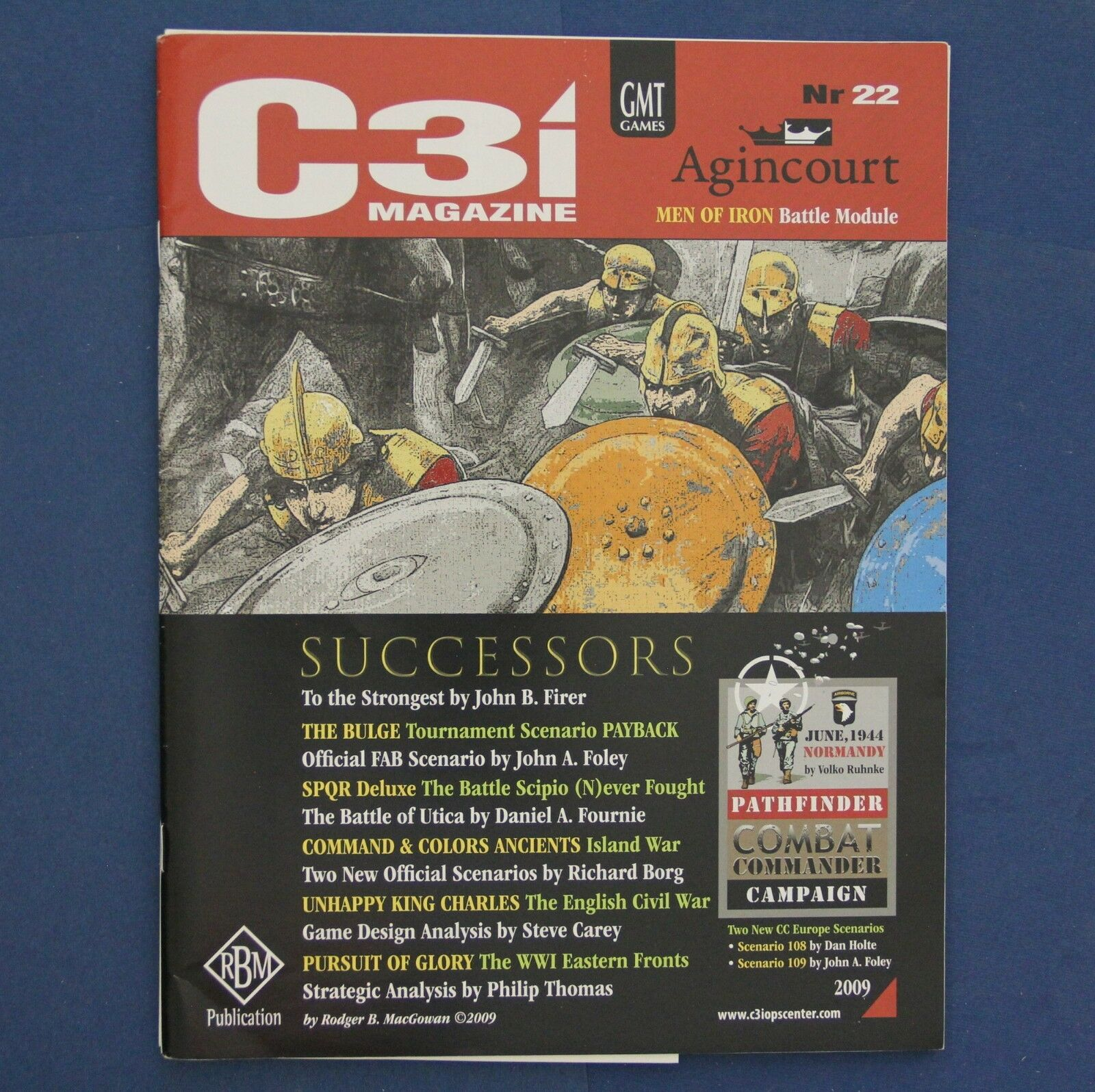 C3i No.22 with Agincourt Men of Iron Battle Module & More