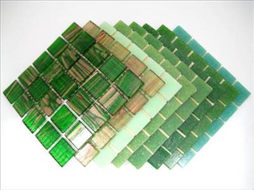 Tessera Tesserae 203 Tile Sheets 10mm Vitreous Mosaic Tiles Choose your colour