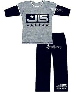 Girls JLS X Factor Aston Marvin Long Pyjamas Ages 5-12
