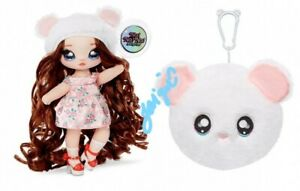 NA NA NA SURPRISE SERIES 2 DOLL HAIR ASPEN FLUFFY MISHA MOUSE WHISKERS PLUSH TOY