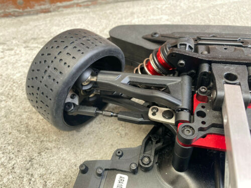 Titanium Steering Plate for Arrma 6s BLX  1//7 MOJAVE