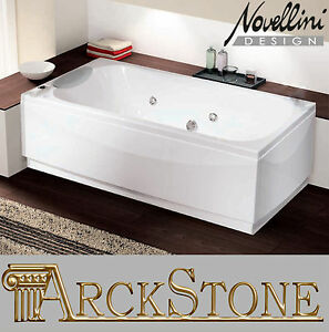 arckstone badewanne hydro whirlpool bubble systems novellini calypso hydro plus 8013232150636 ebay. Black Bedroom Furniture Sets. Home Design Ideas
