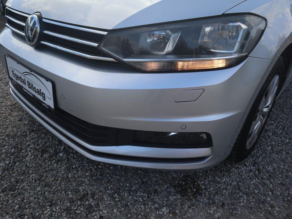 VW Touran 1,6 TDi 115 Highline DSG 7prs Diesel aut.