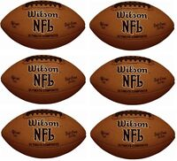 (6) Ea Wilson Wtf1845 / F1845 Ultimate Composite Official Size Footballs