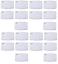 miniature 27 - 10 MASQUES COTTON TISSU FILTRE LAVABLE ET 20 FILTRES CHARBON ACTIF PM2.5 FR