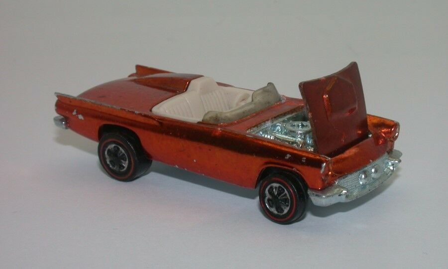 Redline Hotwheels orange 1969 Classic 57 57 57 Bird  oc15397 aa6aef