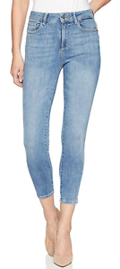 DL1961 Women's Farrow High Rise Cropped Skinny Jeans Cordell