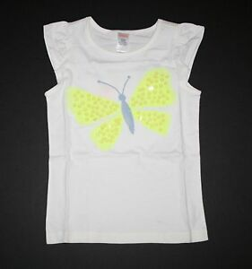 NEW-Gymboree-Girls-Butterfly-Fields-Line-Sparkle-Butterfly-Tee-Top-NWT-6-7