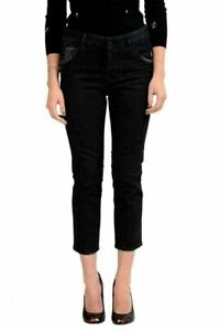 Dsquared2-Women-039-s-034-Cool-Girl-Cropped-Jean-034-Gray-Skinny-Jeans-US-XS-IT-38