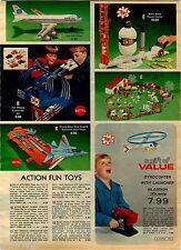 1978 ADVERTISEMENT Mattel Hot Wheels Corkscrew Blue Angels Stunt Gyrocopter