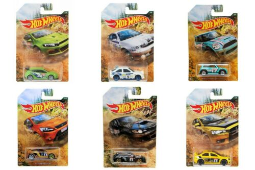 2019 HOT WHEELS BACKROAD RALLY SERIES GDG44 CARS COLLECT THEM ALL SCALE 1:64