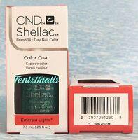 Cnd Shellac Emerald Lights 14+ Day Uv Led Gel Color Nail Polish Starstruck