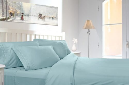 26 COLORS AND ALL SIZES AVAILABLE 1800 COUNT DEEP POCKET 4 PIECE BED SHEET SET