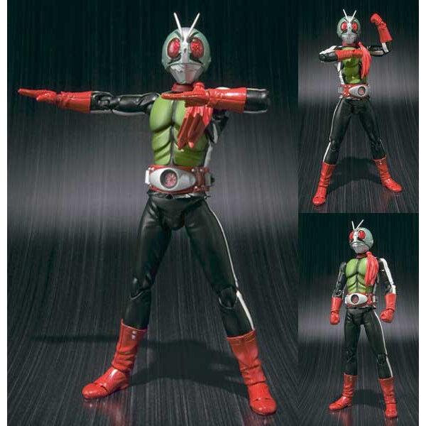 S.H. Figuarts Kamen Masked Rider New 2 Shin Nigo action figure Bandai