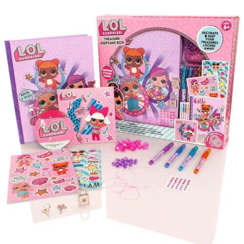 Collector Cards LOL SURPRISE TREASURE KEEPSAKE Storage GIFT BOX Jewelry box