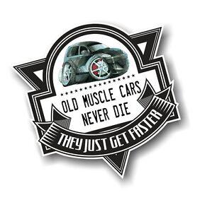 Old Muscle Cars Never Die Slogan Chrysler Pt Cruiser Koolart Pic