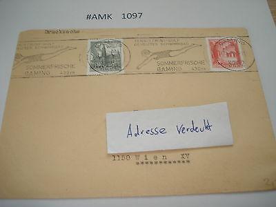 #amk1097 Beleg Brief Postkarte Ganzstück Europa Österreich Sommerfrische Gaming Online Shop