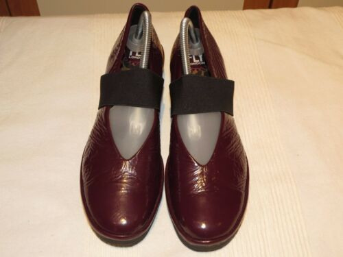London Rrp Violet Cuir Yale 41 95 £ Mary En Fly Jane Uk Eu Chaussures 8 Verni Fdw14aqx