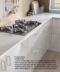 kitchen laminate worktops. Image is loading Premium White Textured Effect by EGGER Kitchen Laminate  Worktop 4 1m