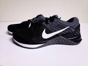 Nike Metcon DSX Flyknit Training Black Dark Grey Shoes 849809 005 ... 35d67183916