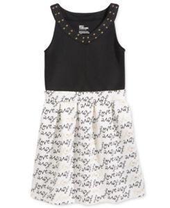 0af895f1133a Image is loading Girls-Dress-Epic-Threads-Holiday-Skater-Love-Embellished-