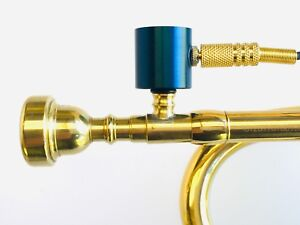 Trumpet-PiezoBarrel-P9-Pickup-microphone-Bach-style-5C-Mouthpiece-and-4m-Cable