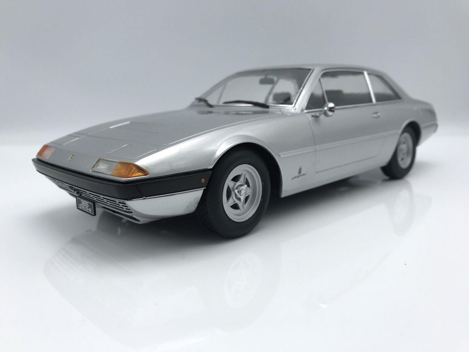 Ferrari 365 gt4 2+2 1972 Argent - 1 18 KK-Scale    NEW