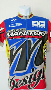 vtg-VOLER-Easton-RED-MANITOU-HYPERLITE-CYCLING-JERSEY-S-Small