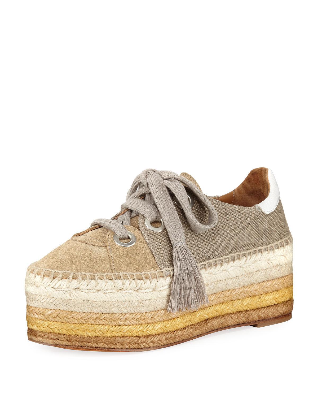 Chloe Qai Platform Espadrille baskets chaussures chaussures chaussures Taille 40 MSRP   650.00 e91390