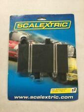 Scalextric 87mm Quarter Straight Track 2pcs C8200