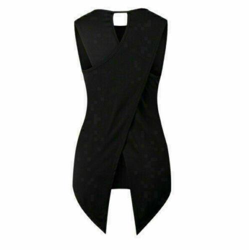 Hot Women Irregular Sleeveless Loose Tops Ladies Cocktail Party Blouse T-Shirt