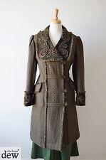 Green Periodo edoardiano Lagenlook Cappotto per una splendida passeggiata Vittoriano Gotico 12