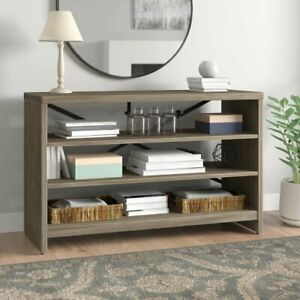 Strong-Wood-Console-3-Tier-Table-Entryway-Living-Room-Elegant-Grey