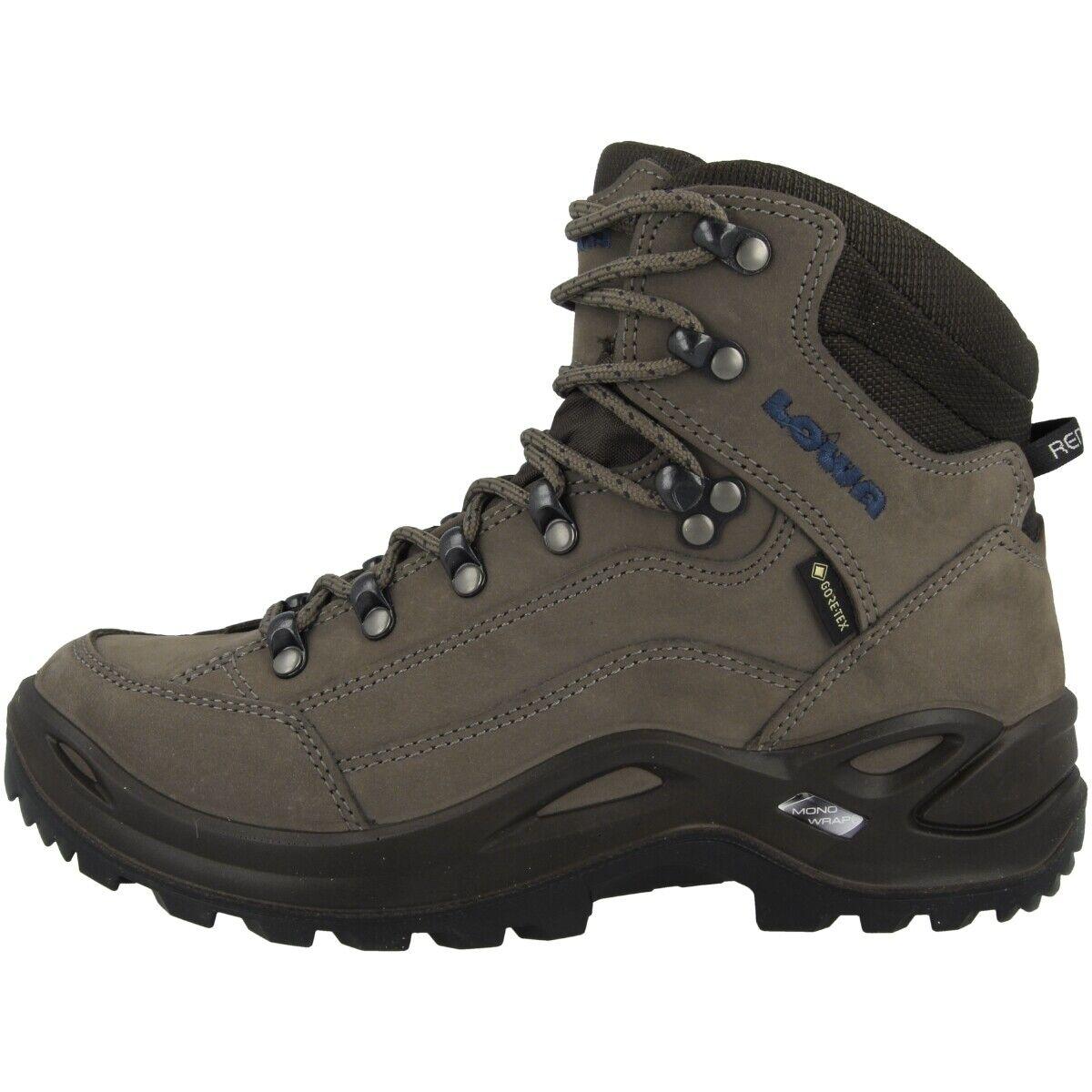 LOWA Renegade GTX Mid damen Gore-Tex Outdoor Hiking Schuhe stein 320945-9541