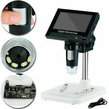 1000x 43 Lcd Screen Digital Electronic Microscope Magnifier Camera 8 Led 2020