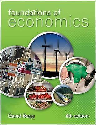 1 of 1 - Foundations of Economics by David Begg (Paperback, 2009)